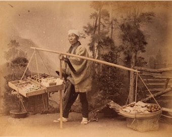 Candy Seller Photo - Unframed - FREE SHIPPING