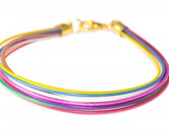 Colorful Wires  - Bracelet