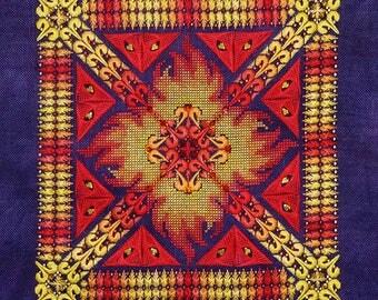 Phoenix Mandala PDF Chart by Northern Expressions Needlework