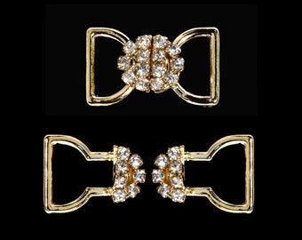 Style # 11792G Bow Closure - Gold Plated