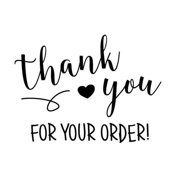 Thank You For Your Order >> Thank You For Your Order Stamp Packaging Stamp Envelope
