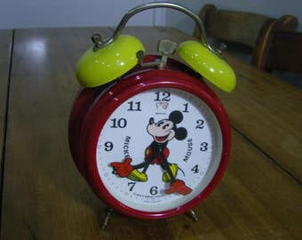 Disney Mickey Mouse Wind-up Alarm Clock