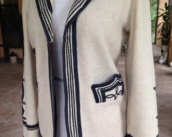 Wool Blazer by Mayan Designs 1960-70's