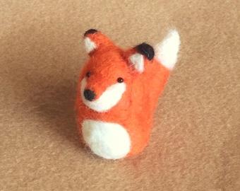 Little Fox - needle felted