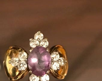 Estate Amethyst Cocktail Ring