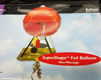 Barbeque grill balloon