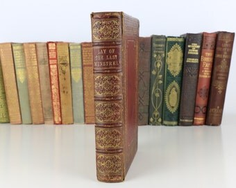 1854 Lay of the Last Minstrel Sir Walter Scott. Bart.