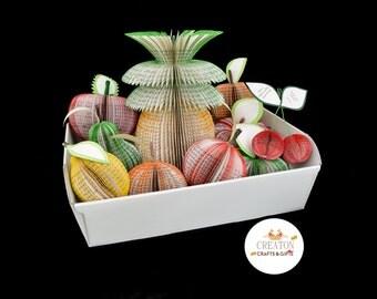 Personalised 4th Wedding Anniversary Gift - Fruit Hamper - Fruit anniversary - 1st Anniversary Gift - Paper Anniversary Gift - Fruit Basket