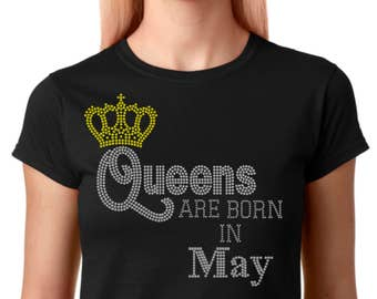 Queens Are Born Months  (All 12 Months are Available)