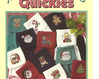 Merry Christmas Quickies, Christmas Towels, and Christmas Aglow