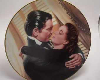 Gone With The Wind Marry Me, Scarlett Critic's Choice Ltd Ed 1991 Plate