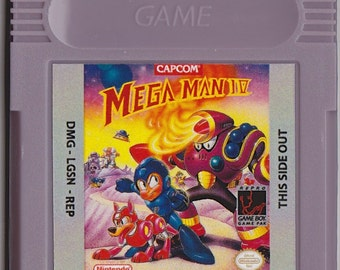 Gameboy Game Boy Color GBC Megaman IV Customized