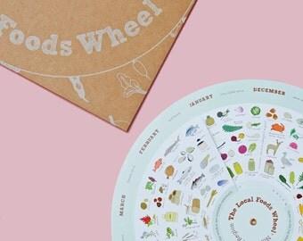 Northwest Local Foods Wheel