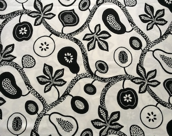 Scandinavian Swedish fabric Madagaskar - 100% Cotton - 150 cm (59'') wide