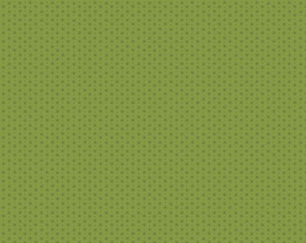 Lizzy House Asterisk in Sage Green for Andover Fabrics