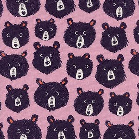 Cozy -- Teddy and the Bears in Lilac by Cotton and Steel House Designer