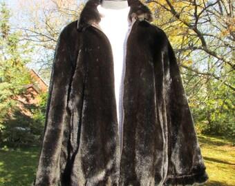 TISSAVELLE Faux Fur Bomber Jacket, Faux Mink Jacket, Bolmer Jacket, Winter Jacket, Winter Coat, Faux Mink Jacket with Zipper, Medium