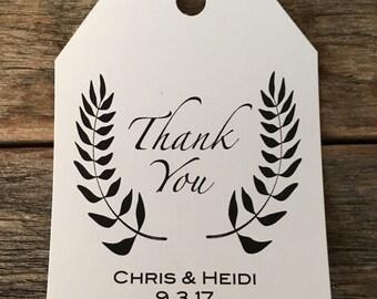 Thank You Label,  Wedding Favors, Thank You Favors, Bridal Shower Labels, Favors, Party Favors