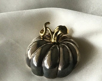 Vintage Pumpkin pin or pendant Best