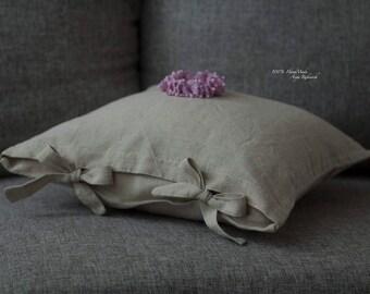 Set pillowcases made of natural fabrics