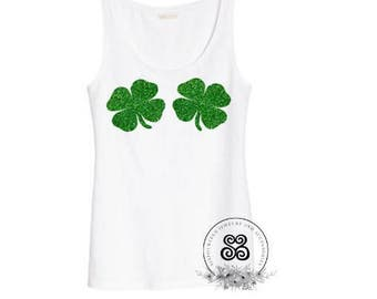Iron on transfer decals shamrocks