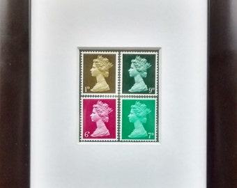 50th birthday gift with 1967 mint postage stamps