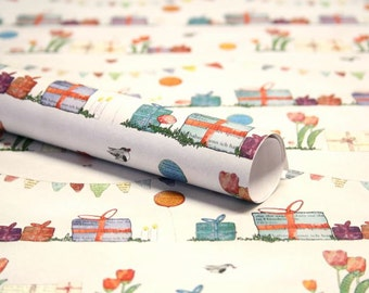 3 x gift wrap gifts