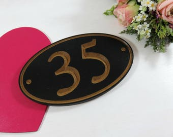 Outdoor House Number - Custom Address Sign - House Address - Street Number Sign - Housewarming Gift - Street Numbers - Entryway Decor - Gift