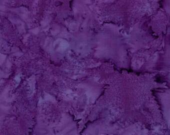 Hoffman Fabrics Watercolors New Grape Purple 1895-N45-New-Grape Bali Batik Fabric