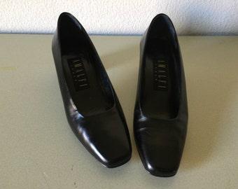 Vintage Shoes - Amalfi Pumps Black Italy