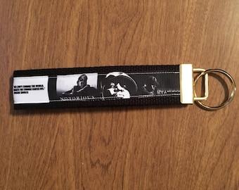 Notorious BIG Key Chain Zipper Pull