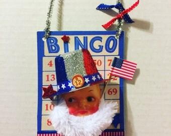 Uncle Sam bingo card