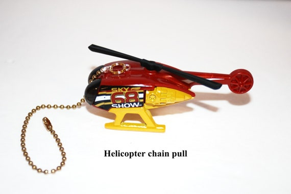 Helicopter Ceiling Fan Chain Pull