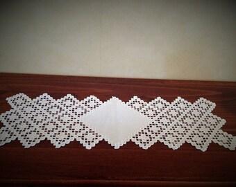Swedish / Scandinavian hardanger embroidery table cloth