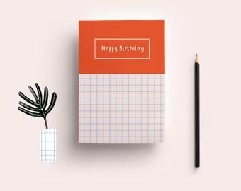 Postcard» happy birthday»