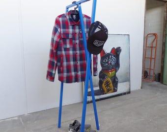 Clothes rack.