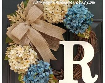 EVERYDAY Door Decor, Everyday Wreaths, Wreath for Front Door, Wreath, Hydrangea Wreath