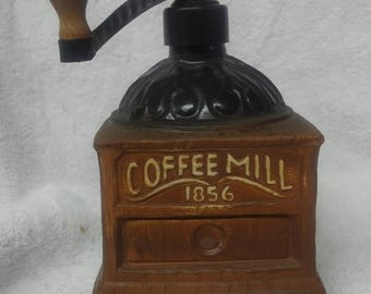 Jim Beam Coffee Grinder Whiskey Decanter