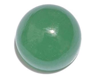 Green Aventurine Quartz Round Cabochon Loose Gemstone 1A Quality 13mm TGW 8.00 cts.
