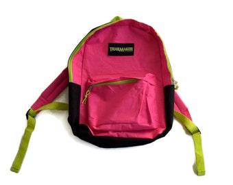 30% Flash Sale 90s Neon Color Block Contrast Trailmaker  Backpack