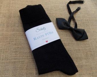 Wedding socks black - wedding, gift groom, wedding socks