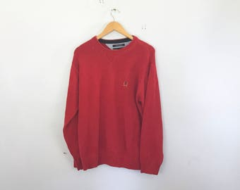 Tommy Hilfiger sweater, jumper, pull over, 90's, size large