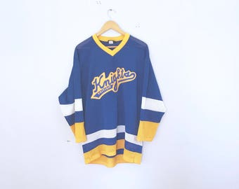 vintage hockey jersey British Knights hockey Jersey sports jersey , clothing,  90's , size L