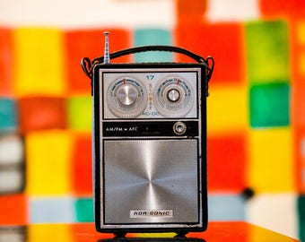 Bluetooth 1960s Kor-Sonic Rechargeable Boombox Radio