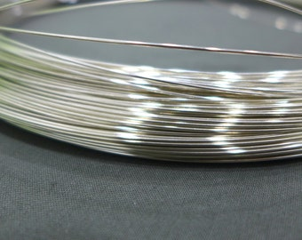 5ft,10ft,20ft,30ft,18ga,1.0mm,Half Hard, 925 Sterling Silver Wire,DIY Jewelry Making,Supplies,Findings