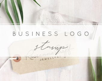 Custom Logo Stamp | Personalised Business Stamp - Logo Stamper