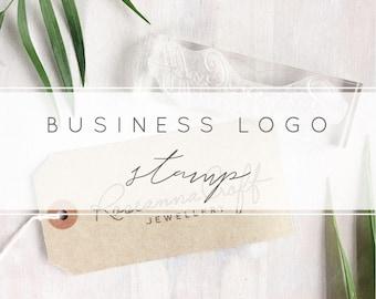 Custom Logo Stamp | Personalised Business Stamp - Logo Stamper