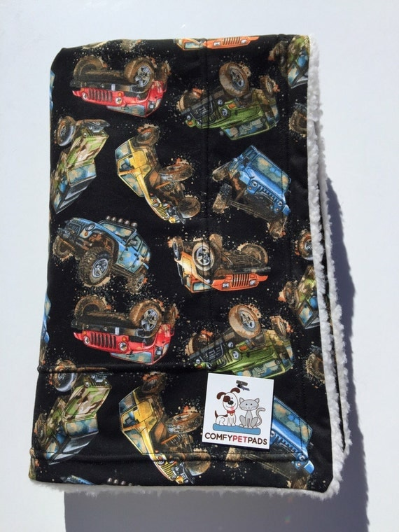 Jeep Blanket Baby Boy Gifts Muddy Jeeps 4wheeler Off Road