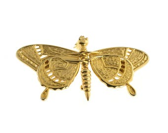 Moveable Butterfly Brooch
