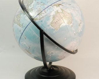 World map globe - contempory / modern